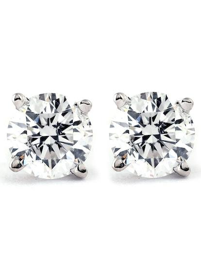 Pompeii3 1/4 Carat Genuine Diamond Stud Earrings
