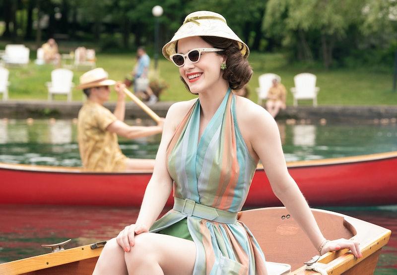 Rachel Brosnahan as Midge Maisel in The Marvelous Mrs. Maisel