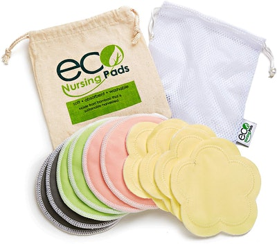 Washable Reusable Bamboo Nursing Pads