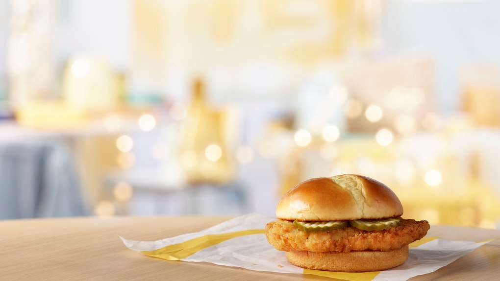 McDonald's is testing a new Crispy Chicken Sandwich.