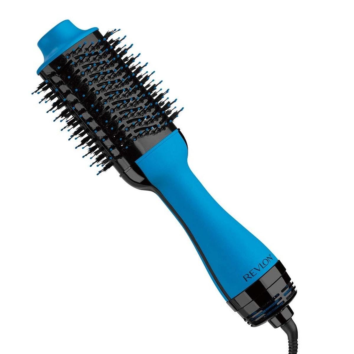 Revlon One Step Hair Dryer & Volumizer Hot Air Brush, Blue