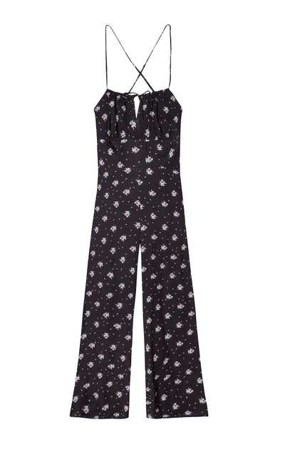 Backless Maxi Jumpsuit