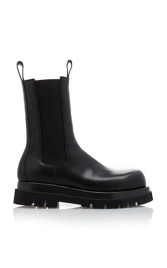 Lug-Sole Chelsea Boots