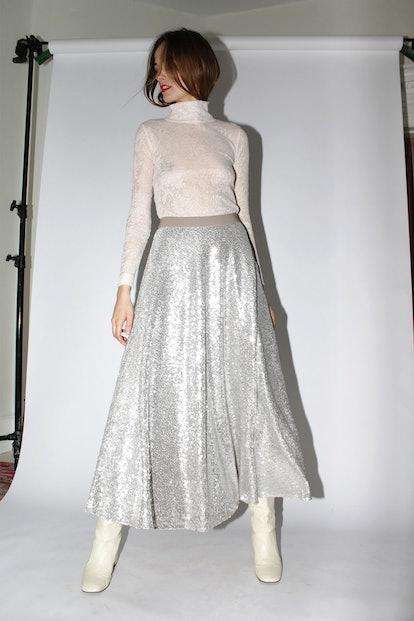 Cleo Sequin Skirt