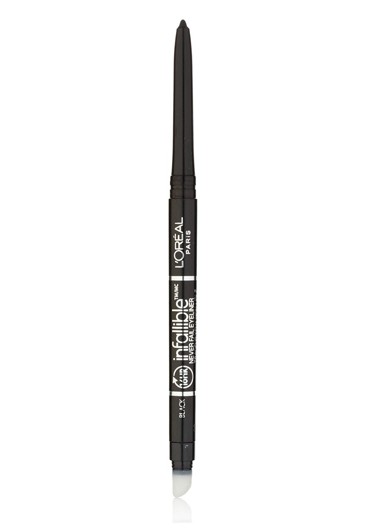 L'Oreal Paris Makeup Infallible Never Fail Original Mechanical Pencil Eyeliner with Built in Sharpen...