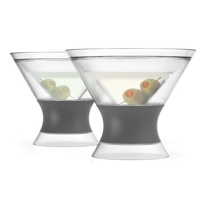 VIDEO Host Insulated Plastic Cocktail Tumbler (2-Pack)