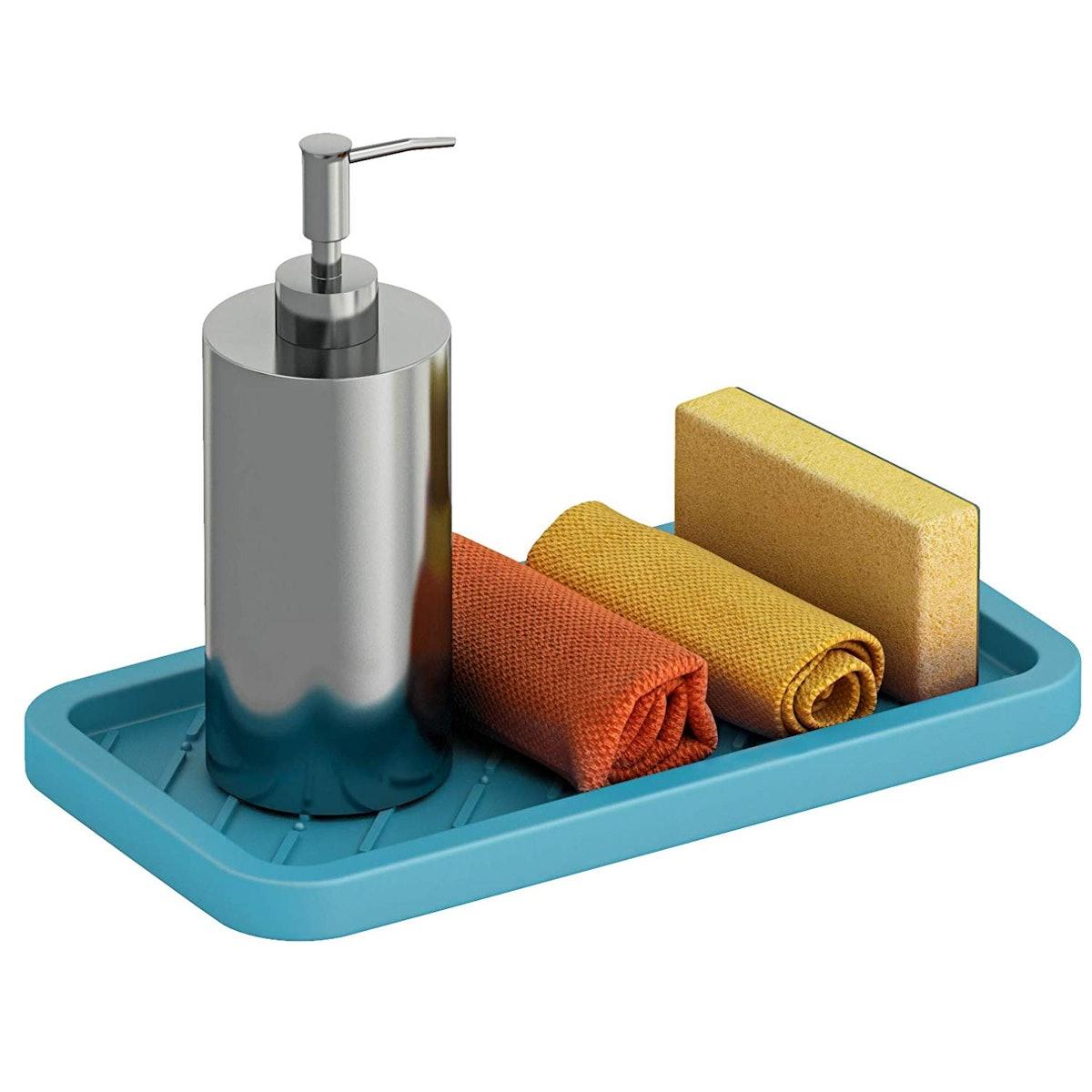 Comfify Silicone Sink Tray Organizer