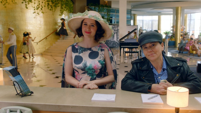 Susie and Midge in the Fontainbleu in Mrs. Maisel, the kind of fancy hotel Susie's never stayed in.