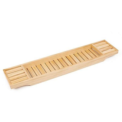 Natural Bamboo Bath Rack