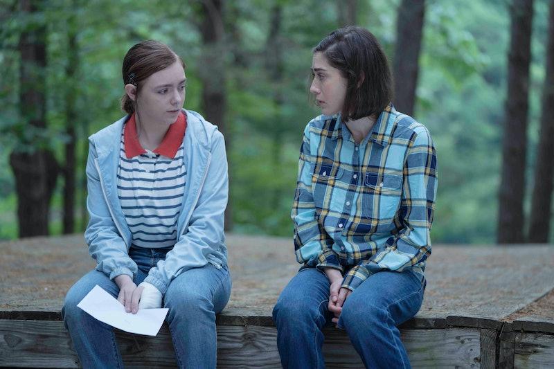 Elsie Fisher as Joy and Lizzy Caplan as Annie in 'Castle Rock' Season 2