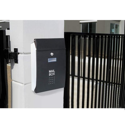 Decaller Safe Locked Mailbox