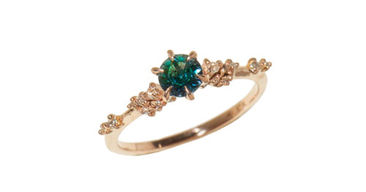Why Non-Diamond Engagement Rings Will Take Off In 2020