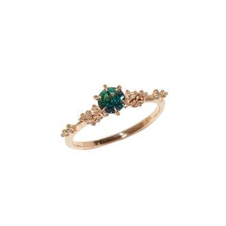 Australian Sapphire Daphne Ring