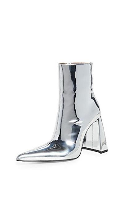 A Heel PVC Boots