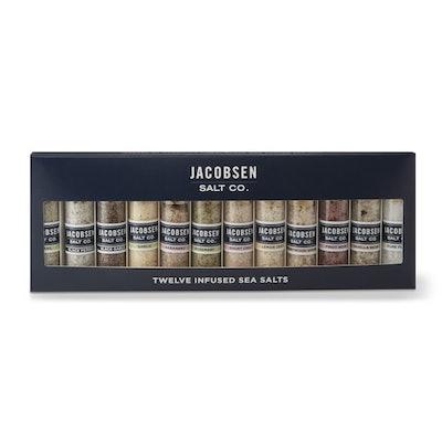 Jacobsen Salt Co. Infused 12 Vial Set