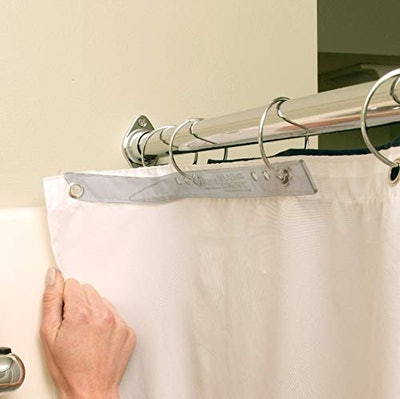 SlipX Solutions Shower Curtain Splash Guards (2-Pack)