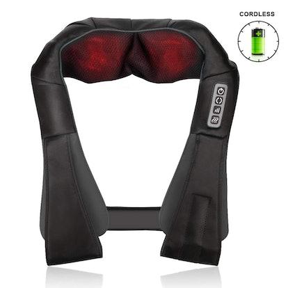 Aquapro Neck Shoulder Back Massager with Heat