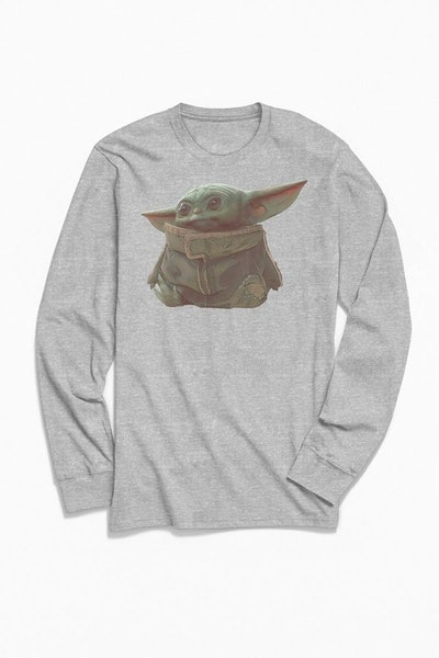 Star Wars The Child Portrait Long Sleeve Tee