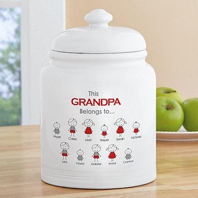 Family Belonging Treat Jar