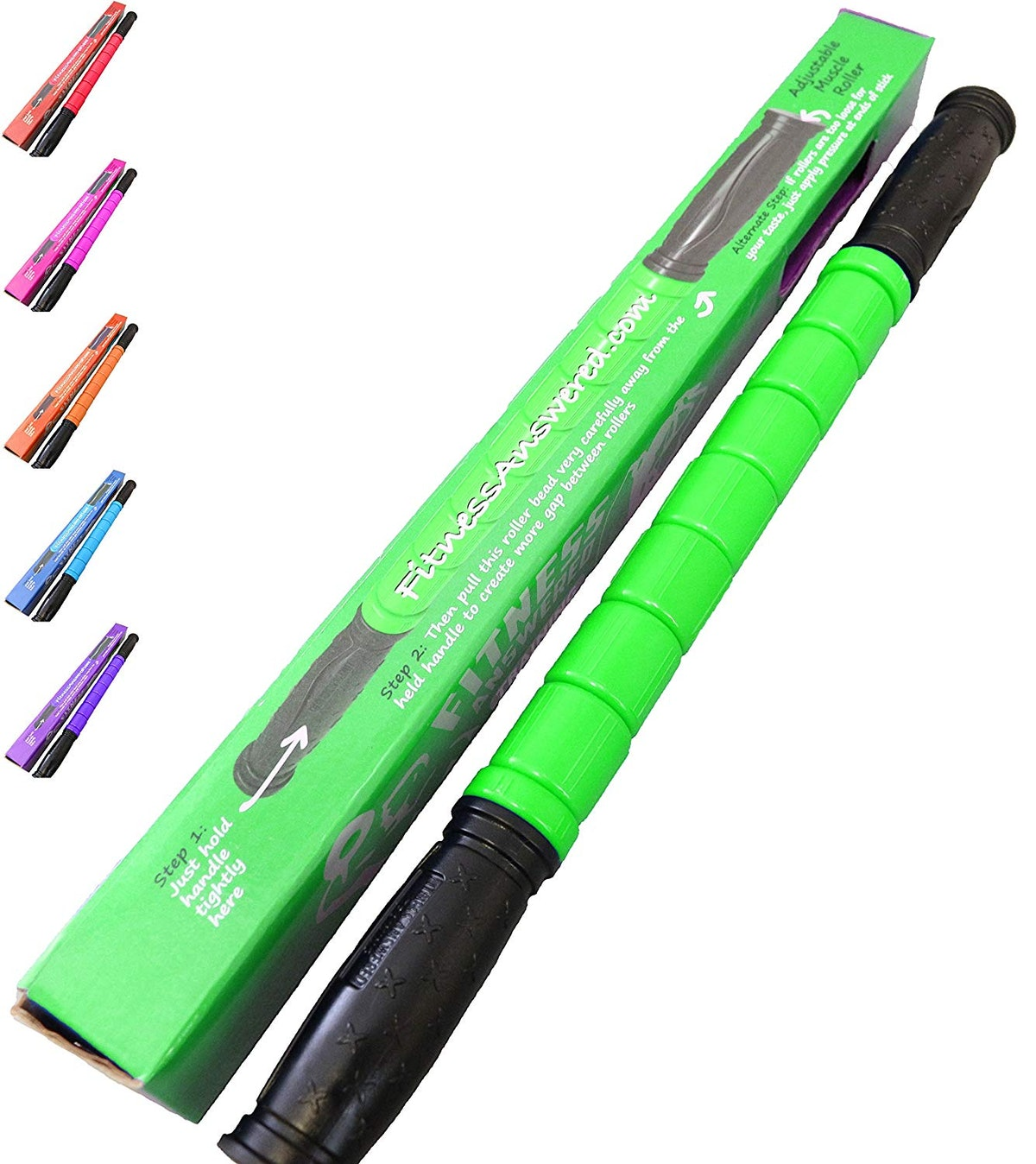 The Muscle Stick Original Muscle Roller by Fitness Answered Training