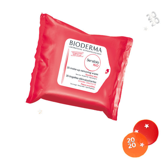 Bioderma Sensibio H2O Makeup Removing Wipes