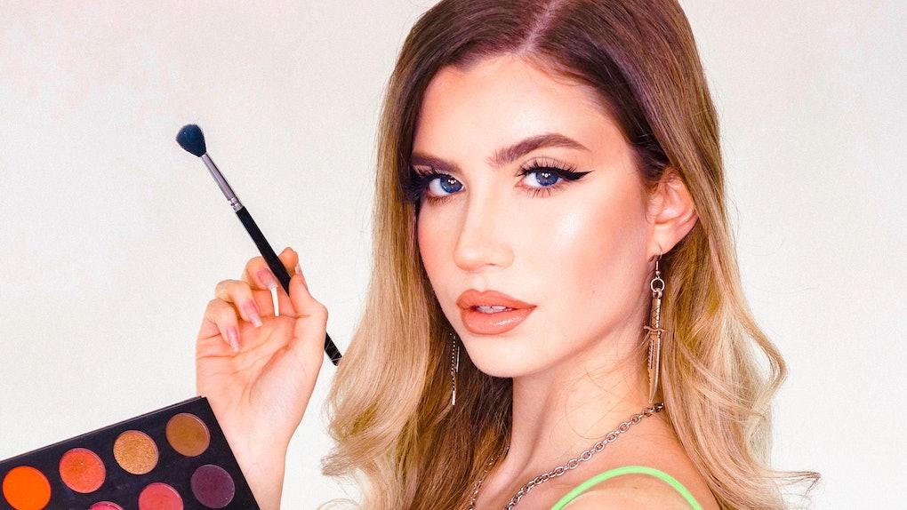 Makeup artist Abby Roberts shares unique tutorials on Instagram and TikTok.