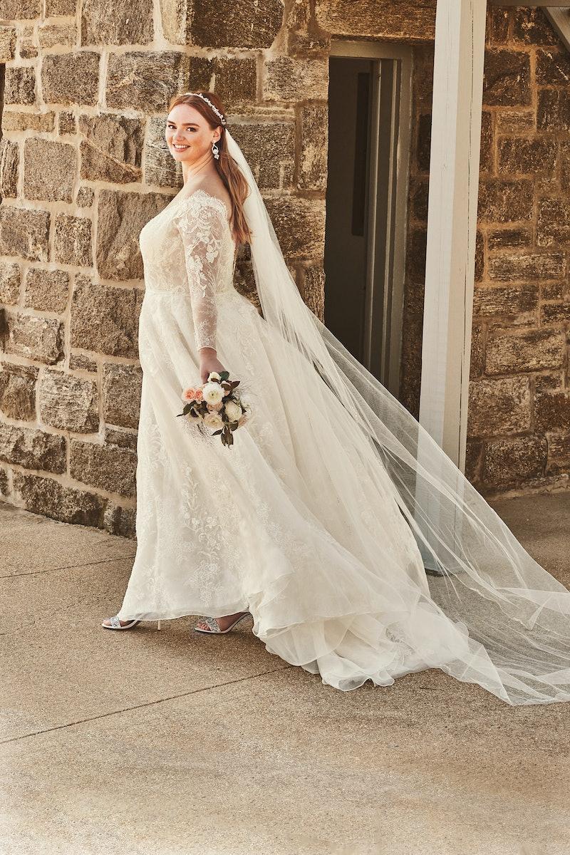 David's Bridal's price parity programs makes all dresses, regardless of size, the same price.