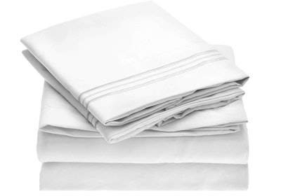 Mellanni Bed Sheet Set Brushed Microfiber 1800 Bedding
