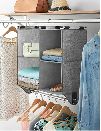 Whitmor 4-Section Fabric Closet Organizer