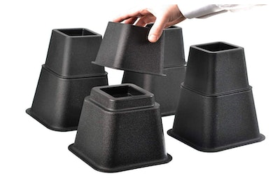 Home-it Adjustable Bed Risers (4-Pack)