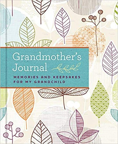 Grandmother's Journal: Memories and Keepsakes for My Grandchild By Blue Streak