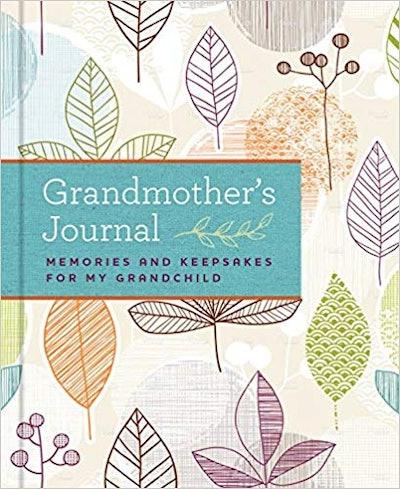 Grandmother's Journal: Memories and Keepsakes for My Grandchild By Blue Streak