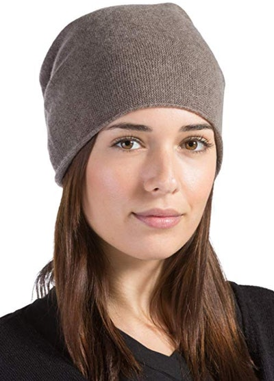 Fishers Finery 100% Pure Cashmere Beanie