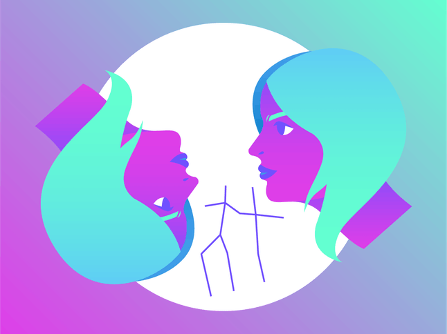 Gemini can resolve conflict by using clearer communication.