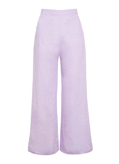 Plain Iris- Enid PAnts
