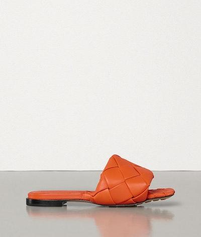 BV Lido Flat Sandals In Nappa