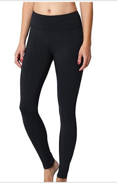 BALEAF Fleece-Lined Leggings with Inner Pocket