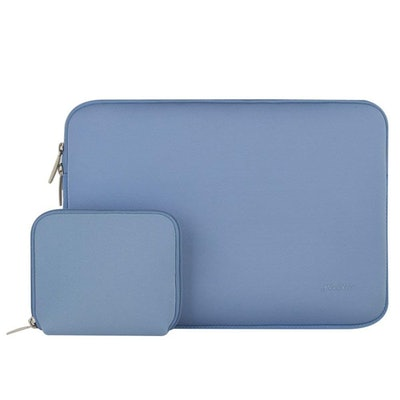 Mosiso Water Repellent Lycra Sleeve Bag Cover for 13-13.3 Inch Laptop with Small Case for MacBook Charger
