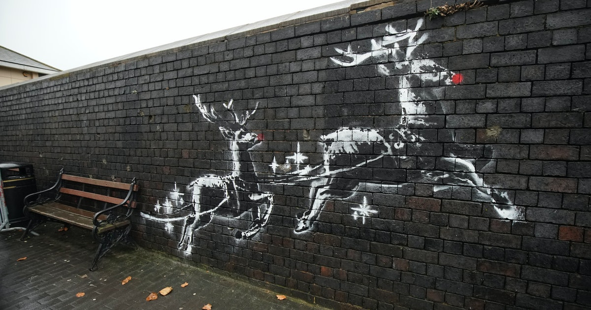 Banksy's New Birmingham Artwork Is A Comment On UK Homelessness
