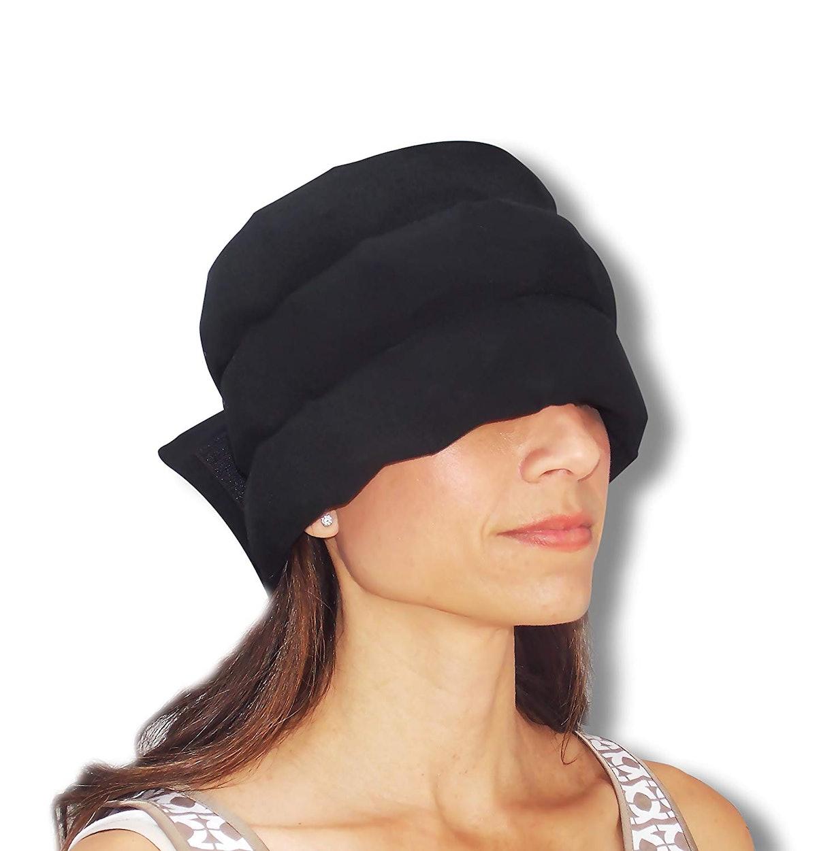 HEADACHE HAT Wearable Ice Pack for Migraine & Headache Relief