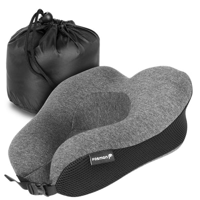 Fosmon Memory Foam Travel Pillow