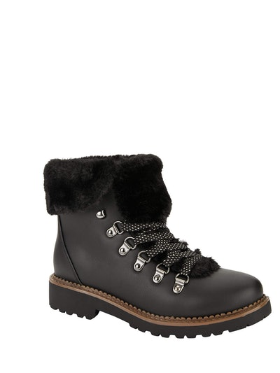 Portland Boot Company Faux Fur Hiker Boot