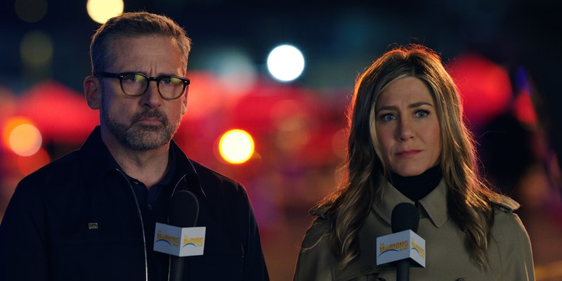 Steve Carell and Jennifer Aniston in 'The Morning Show'