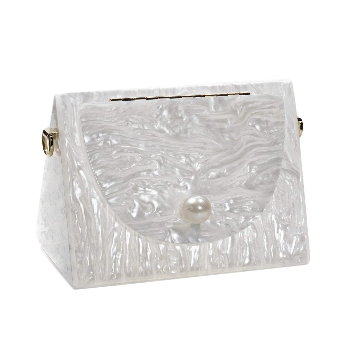 The Brooks Bag in Mother Of Pearl