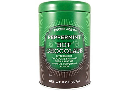 Trader Joe's Peppermint Hot Cocoa will make you want to cozy up this winter.