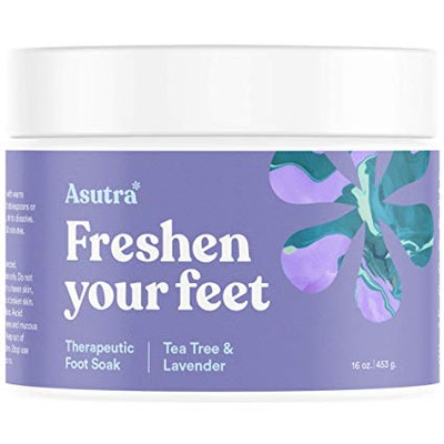 Asutra Freshen Your Feet Tea Tree & Lavender Therapeutic Foot Soak