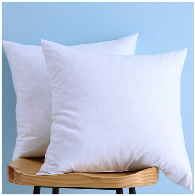 LunarTex Down And Feather Throw Pillow Inserts (Set Of 2)