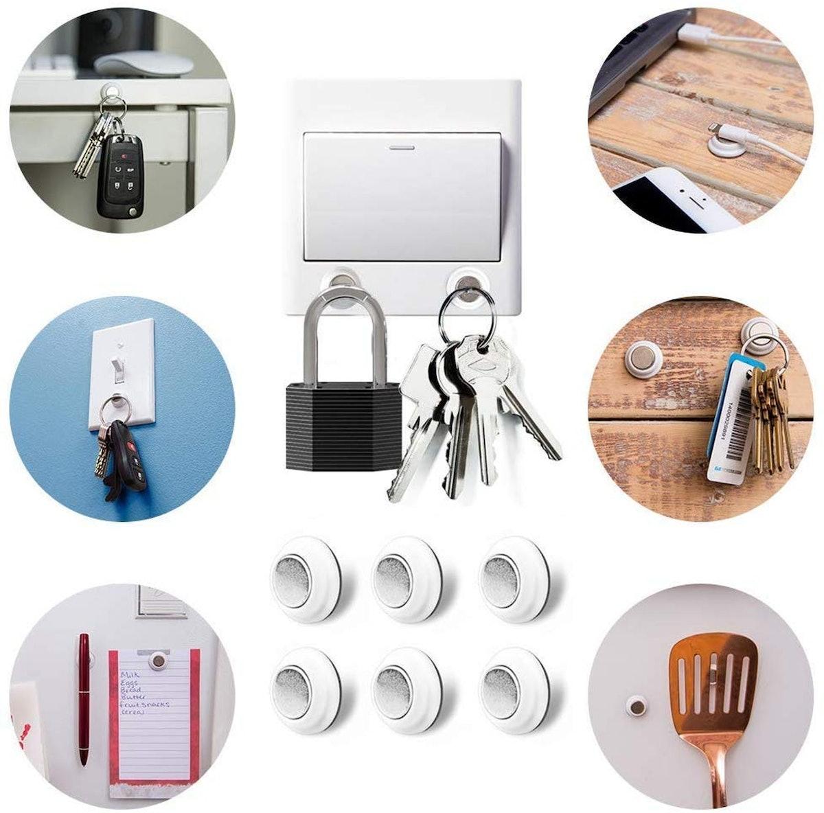 Tescat Magnetic Key Holder (Pack of 12)