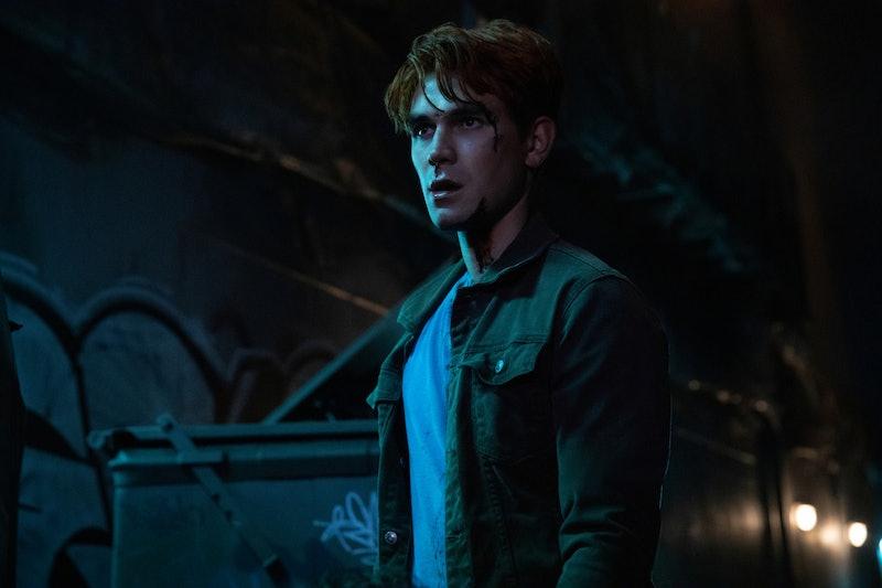 KJ Apa as Archie in 'Riverdale' Season 4