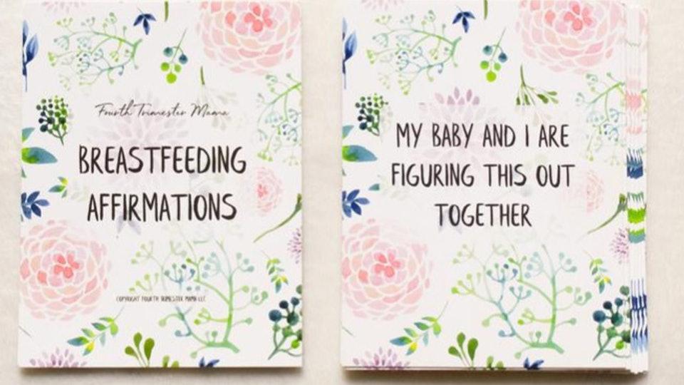Breastfeeding Affirmation Cards
